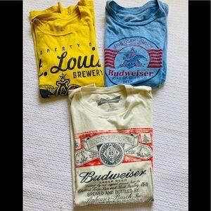 Budweiser t-shirt bundle